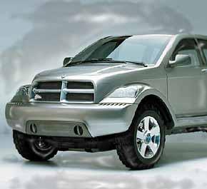 Chrysler-Dodge Hybrid SUV